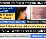 OIST Research Internship Program 2020 in Japan (Fully Funded)
