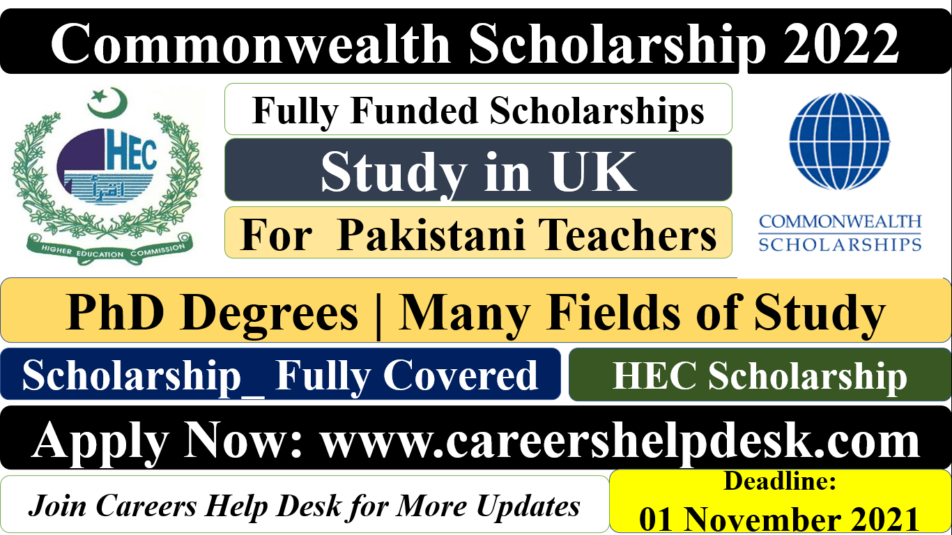 Commonwealth Scholarship for Teaching Faculty