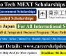 Tokyo Tech (IGPA) MEXT Scholarships 2021 (Fully Funded)
