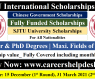 SJTU International Scholarships 2021 to Study in China (Fully Funded)