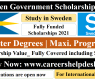 Swedish Government Scholarship 2021 (Fully Funded)- Study in Sweden