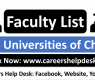 Faculty List of 120 Chinese Universities
