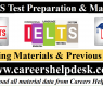 IELTS- Preparation Material & Previous Tests