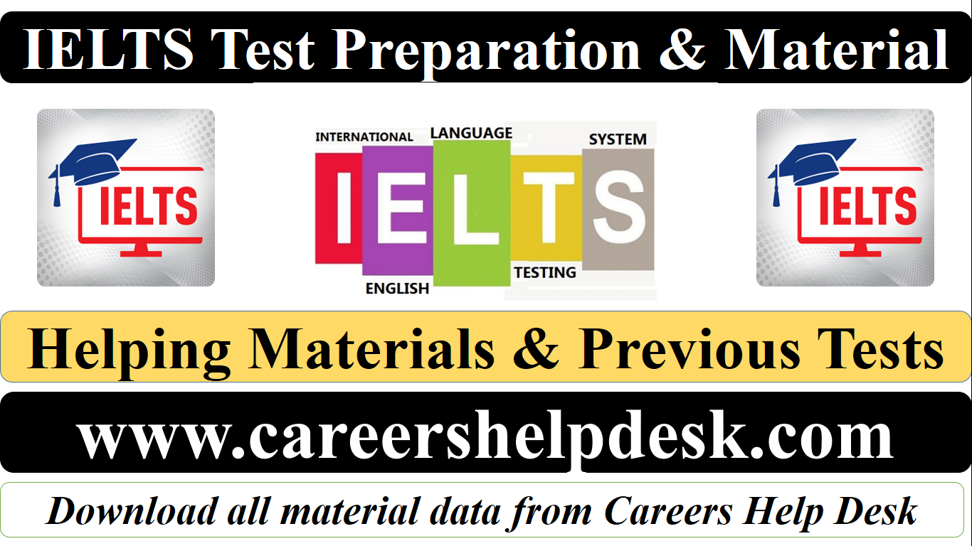 IELTS Helping Material & Previous Tests