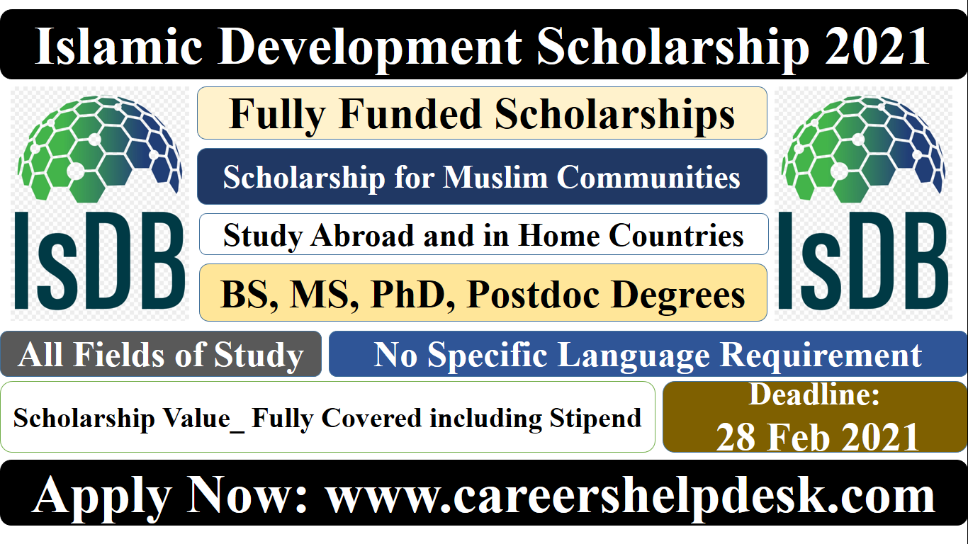 Islamic Development Scholarship 2021