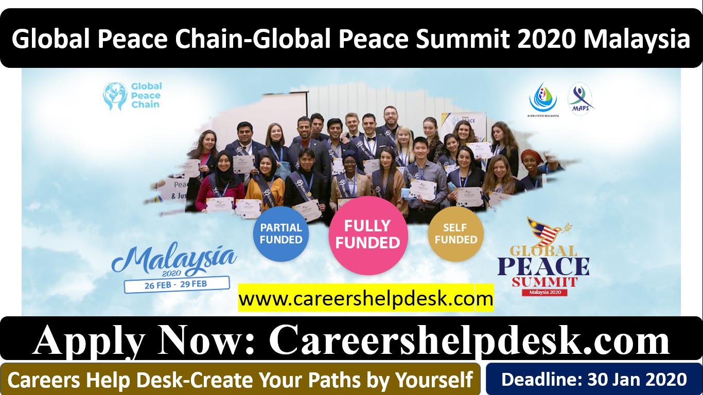 Global Peace Summit Malaysia 2020-Global Peace Chain