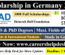 Heinrich Boll Foundation Scholarship in Germany 2021