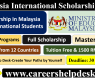 Malaysia International Scholarship (MIS) 2021 for International Students