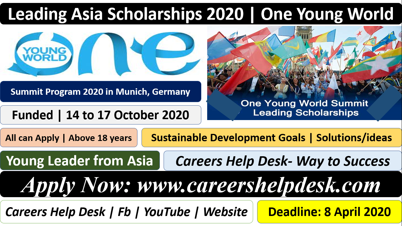 Leading Asia Scholarships – One Young World