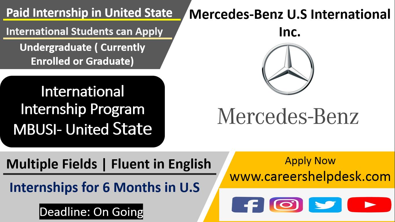 MBUSI International Internship Program