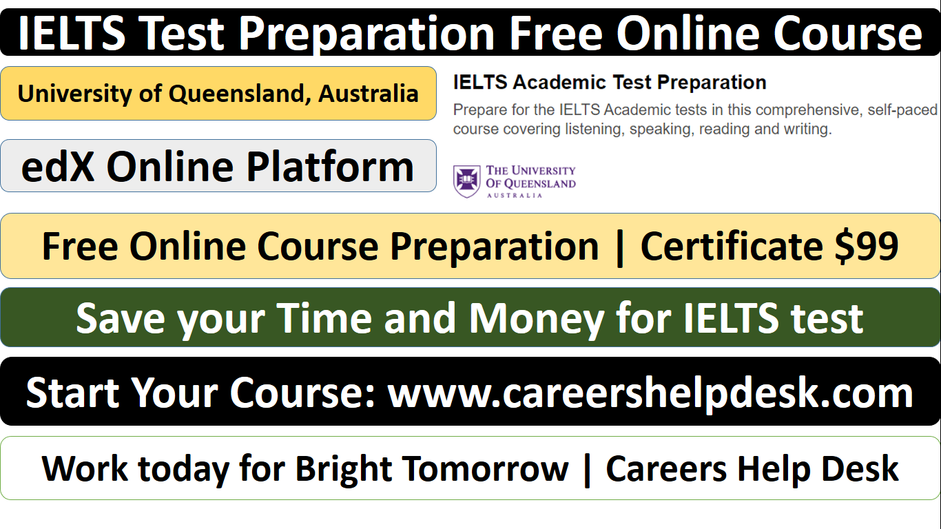 IELTS Test Preparation Free Online Course-edX