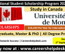 International Student Scholarship Program 2020-2021 in Canada