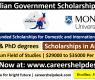 Monash University Scholarship in Australia 2021 (Fully Funded)