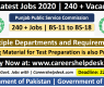 PPSC Latest Jobs 2020 | 240 + Vacancies | PPSC Jobs June 2020