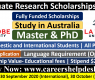 Graduate Research Scholarships 2021 at La Trobe University, Australia
