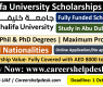 Khalifa University Scholarships 2021-Abu Dubai (Fully Funded)