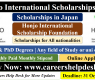Honjo International Scholarships 2021 For International Students | Study in Japan