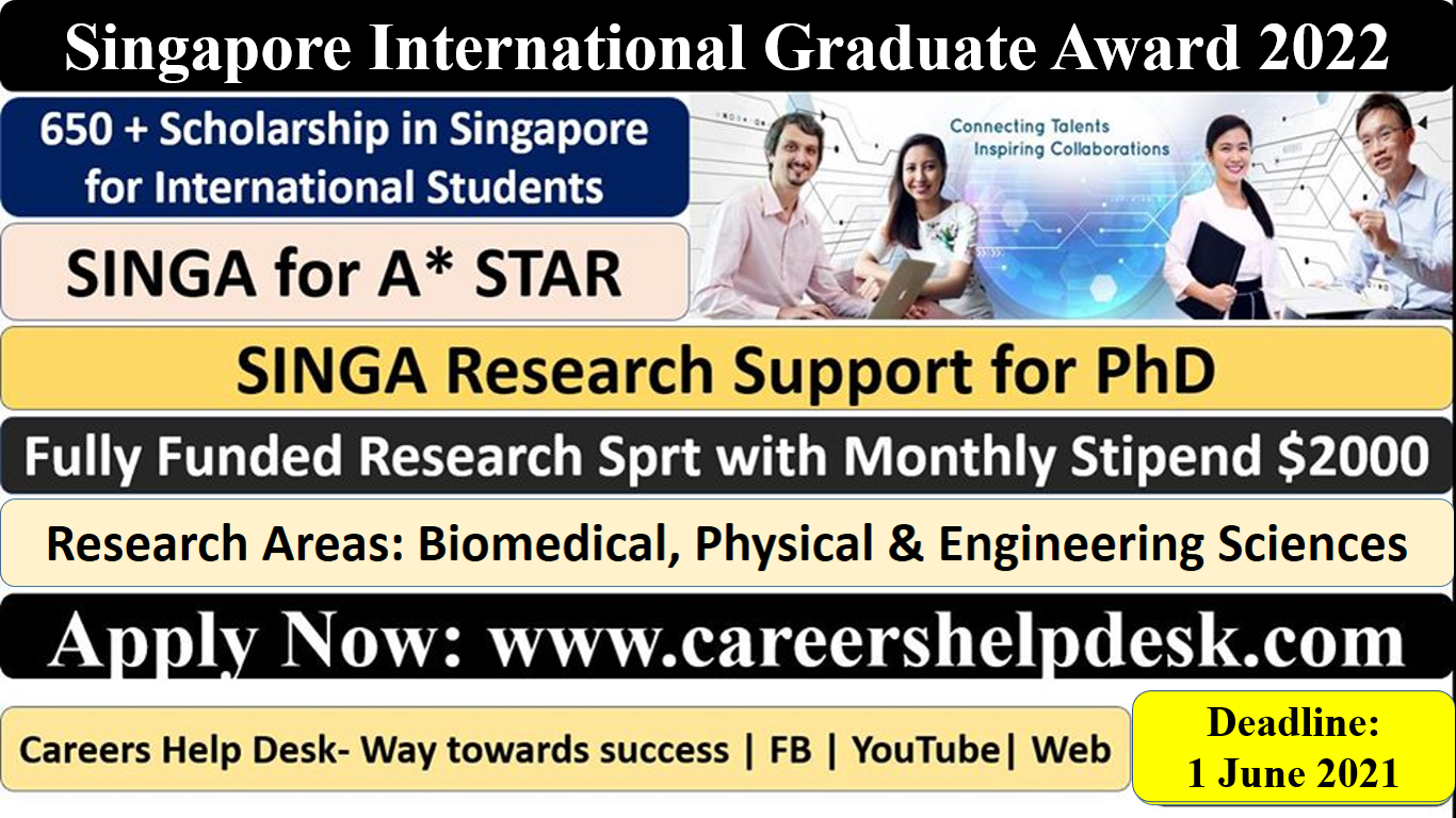 Singapore International graduate Award 2022