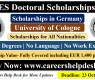 ARTES Doctoral Scholarships 2021 in Germany (Fully Funded)