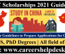 CSC Scholarship Guidelines | Study in China | Prepare your Applications
