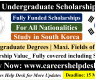 GIST Undergraduate Scholarship 2021 in South Korea (Fully Funded)