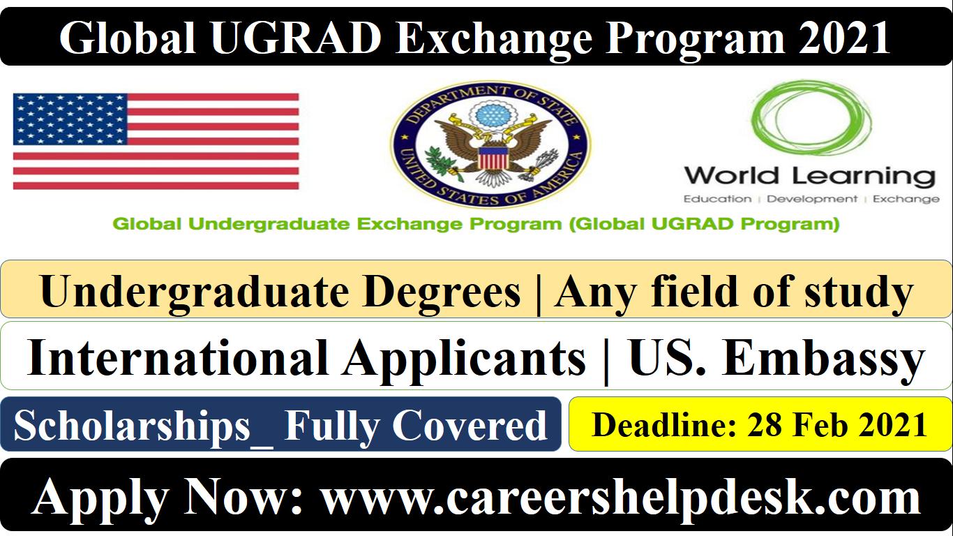 Global UGRAD Exchange Program 2021