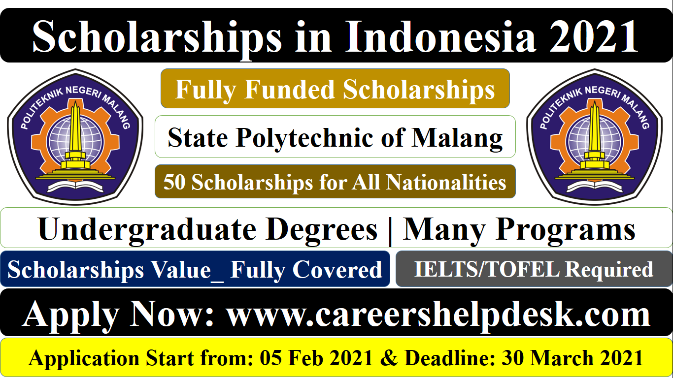 Scholarships in Indonesia for Undergraduate 2021