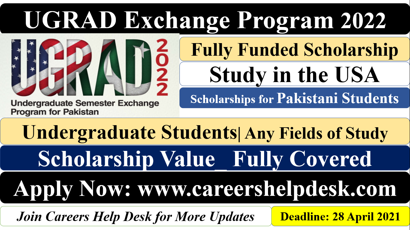 UGRAD Exchange Program for Pakistani students
