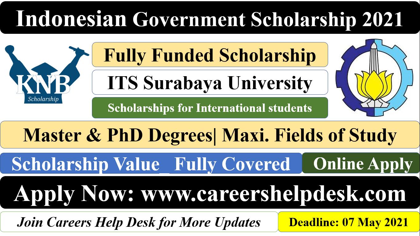 KNB Scholarship 2021 at ITS Surabaya