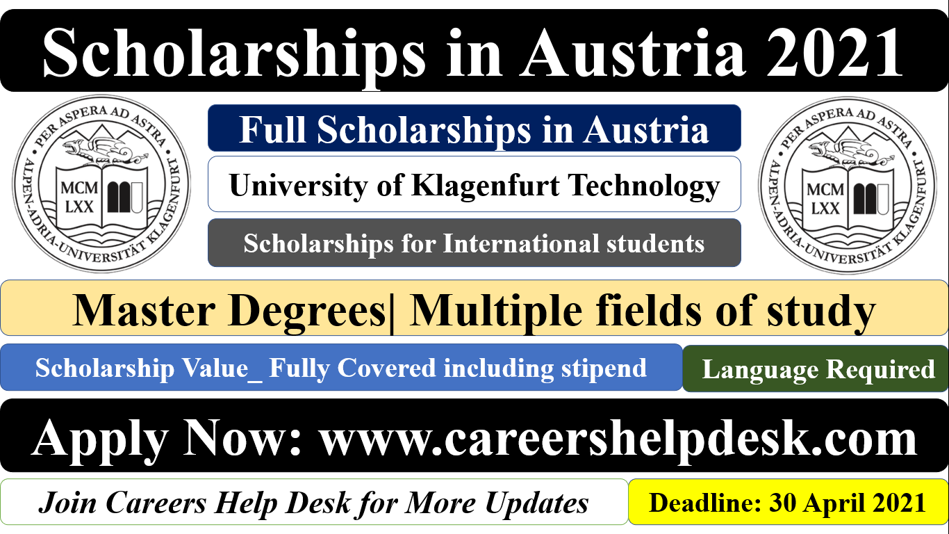 Scholarship in Austria 2021