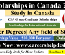 Scholarship in Canada for International Students 2021 | CSA Group