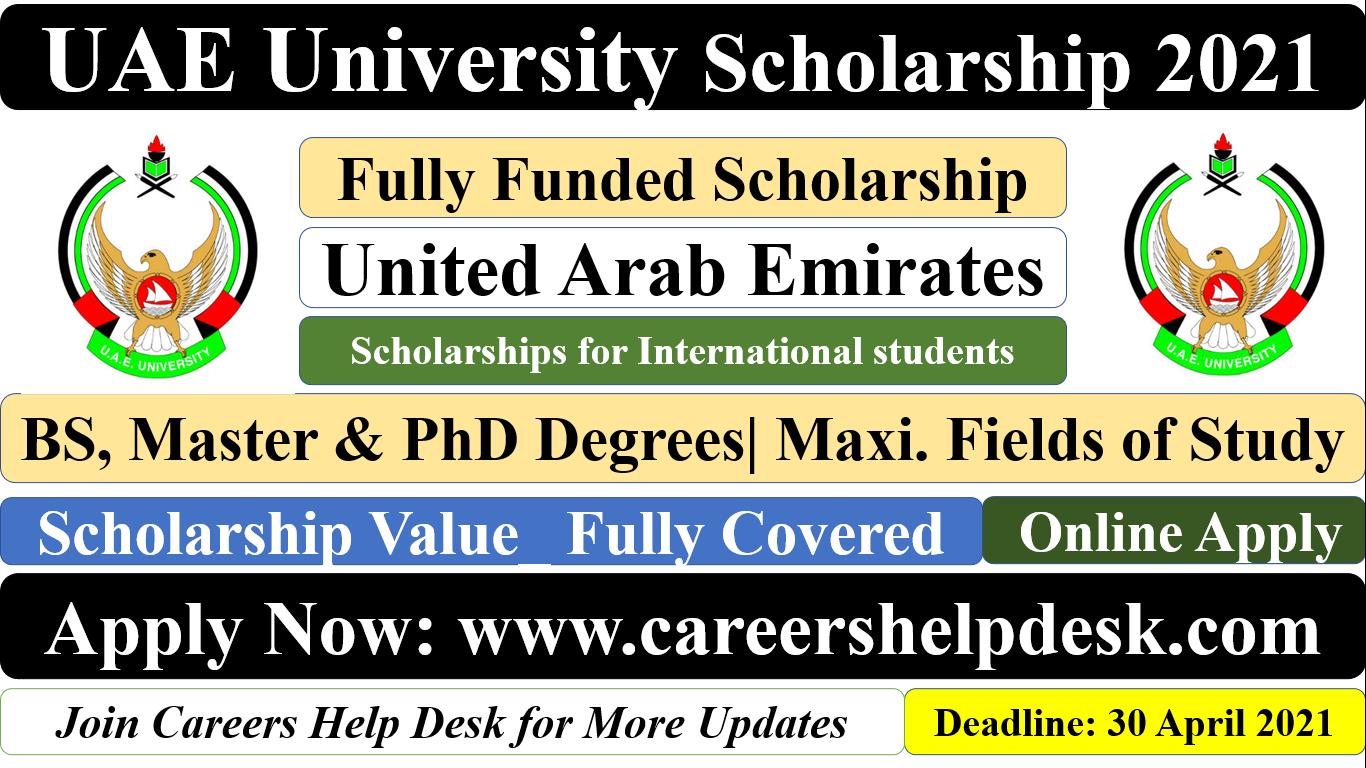 UAE University Scholarship 2021