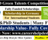 DAAD Green Talents Competition Scholarship in Germany 2021 (Fully Funded)