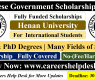 Henan University CSC Scholarship 2021 (Fully Funded)