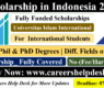 UIII Scholarship in Indonesia for International Students 2021 (Fully Funded)