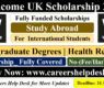 Wellcome UK Scholarship 2021 to Study Abroad (Fully Funded)