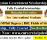 Malaysian Government Scholarship 2022 (Fully Funded)