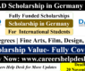 DAAD Scholarship in Germany for International students 2022