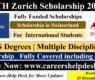 ETH Zurich Scholarship in Switzerland 2022 for International Students