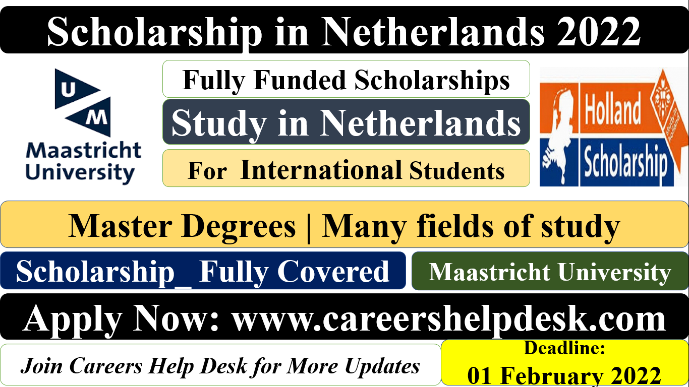 Scholarships in Netherlands 2022